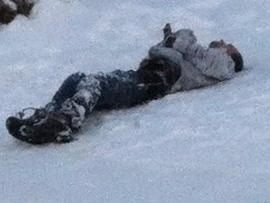 Похищенный неизвестными активист Евромайдана найден мертвым на Оболони. Фото: twitter.com/pavelsheremet