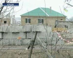 Не зря крымские татары опасаются - их дома УЖЕ помечают крестиками
