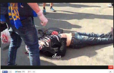 В Одессе погиб протестующий
